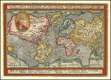 World Map By Matthias Quad / Johann Bussemachaer