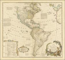 America Map By Carington Bowles / John Bowles