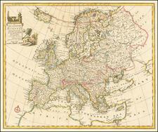 Europe Map By Emanuel Bowen