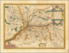 France and Centre et Pays de la Loire Map By Abraham Ortelius