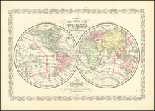World Map By Charles Desilver