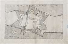 North Africa Map By Giovanni Francesco Camocio