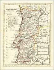 Portugal Map By Herman Moll