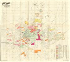 Montana Map By Harper, MacDonald & Co.