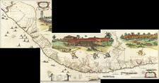 Brazil Map By Johannes et Cornelis Blaeu