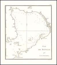 Philippines Map By Chretien Louis Joseph de Guignes
