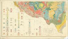 Texas Map By U.S. Geological Survey