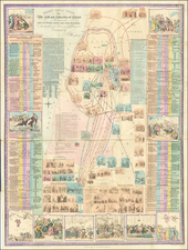 Holy Land and Curiosities Map By Robert Mimpriss
