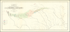 Louisiana, Texas, New Mexico and Geological Map By U.S. Pacific RR Surveys