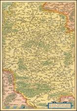 Süddeutschland Map By Abraham Ortelius