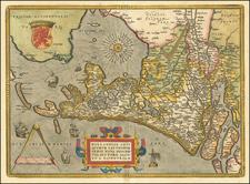 Hollandiae Antiquorum Catthorum Sedis Nova Descriptio . . . By Abraham Ortelius