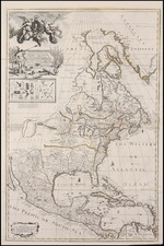 United States, North America and Canada Map By George Willdey