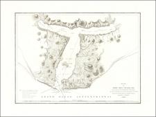 Alaska Map By Jean Francois Galaup de La Perouse
