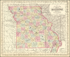 Missouri Map By Charles Desilver