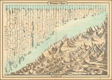 Curiosities Map By Alvin Jewett Johnson  &  Benjamin P Ward