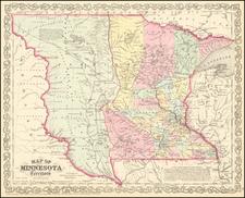 Minnesota, North Dakota and South Dakota Map By Charles Desilver