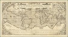 World Map By Peter Maffei