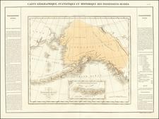Alaska Map By Jean Alexandre Buchon