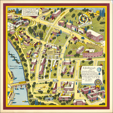 Minnesota and Pictorial Maps Map By Nadine Semans
