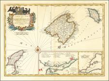 Balearic Islands Map By Homann Heirs