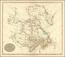 Canada Map By John Stockdale