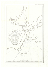 San Francisco Map By Jean Francois Galaup de La Perouse