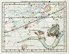 World, Curiosities and Celestial Maps Map By John Flamsteed / MJ Fortin