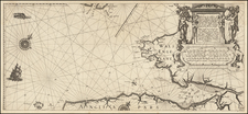 England Map By Willem Janszoon Blaeu