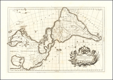 America Map By G.B Ghisius