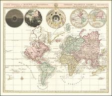 Carte Generale du Monde, ou Description du Monde Terrestre & Aquatique… By Johannes Covens  &  Cornelis Mortier