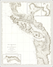 Oregon, Washington and Canada Map By Capt. George Vancouver
