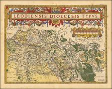 Map By Abraham Ortelius