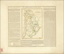 Argentina Map By Carl Ferdinand Weiland