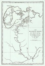 Midwest and Canada Map By Ambroise Tardieu / Henry Schoolcraft