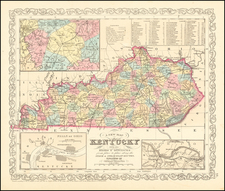 Kentucky Map By Charles Desilver