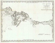 Alaska and Canada Map By Capt. George Vancouver