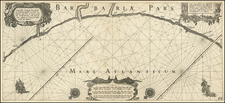 North Africa Map By Willem Janszoon Blaeu