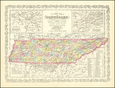 Tennessee Map By Charles Desilver
