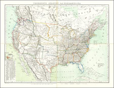 United States Map By Carl Flemming