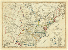 United States Map By Franz Pluth