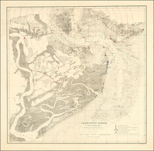 South Carolina Map By United States Coast Survey