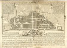 London Map By John Gwynn
