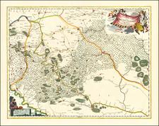 Ukraine Map By Johannes Blaeu