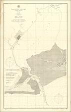 Louisiana and Texas Map By U.S. Coast & Geodetic Survey