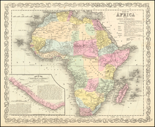Africa Map By Charles Desilver