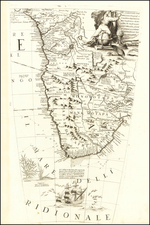 South Africa Map By Vincenzo Maria Coronelli
