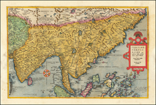 China, India, Southeast Asia, Philippines, Other Islands and Central Asia & Caucasus Map By Gerard de Jode