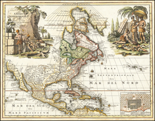 North America Map By Christoph Weigel