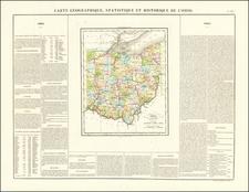 Ohio Map By Jean Alexandre Buchon