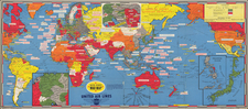 World and Pictorial Maps Map By Stanley Turner